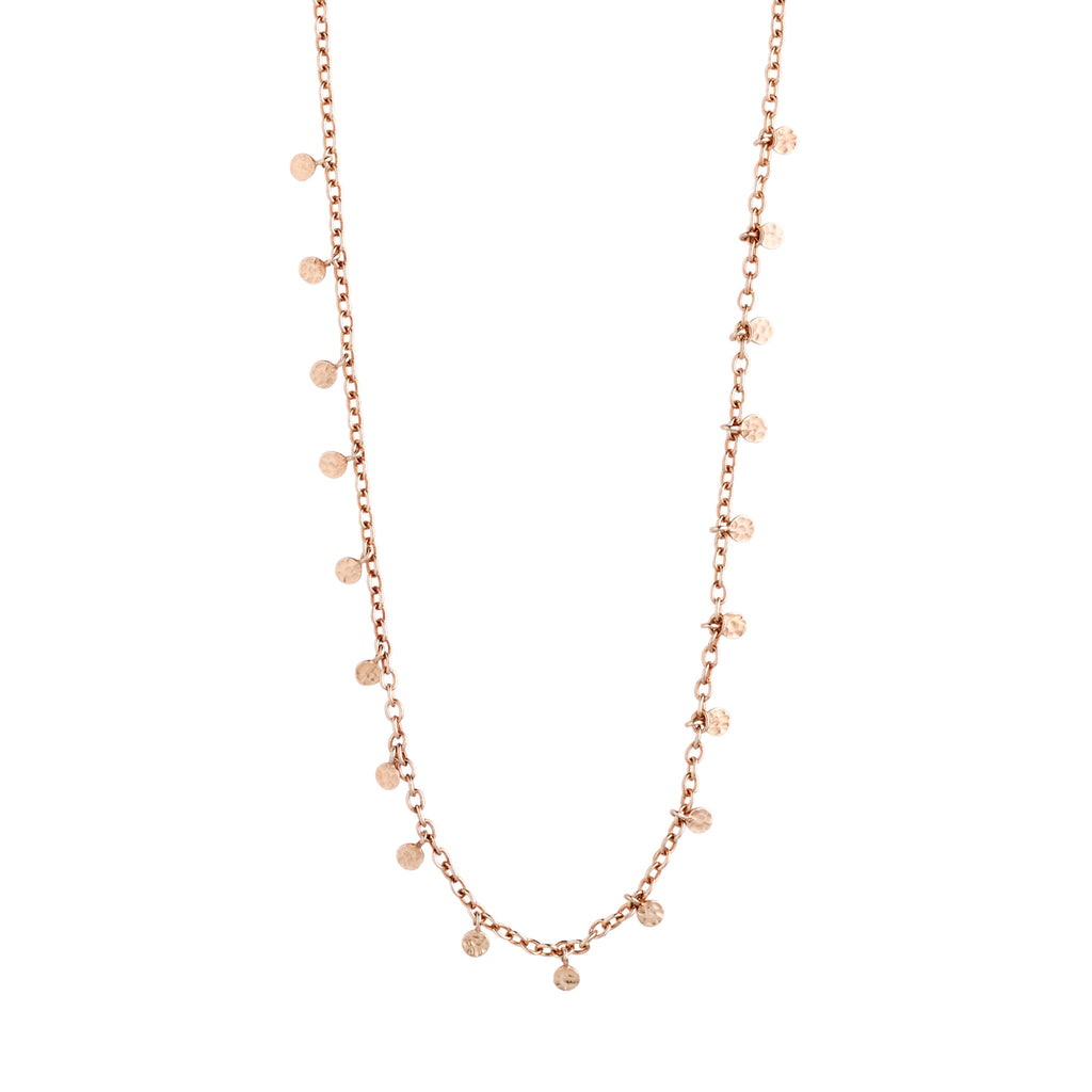 Necklace : Panna : Rose Gold Plated