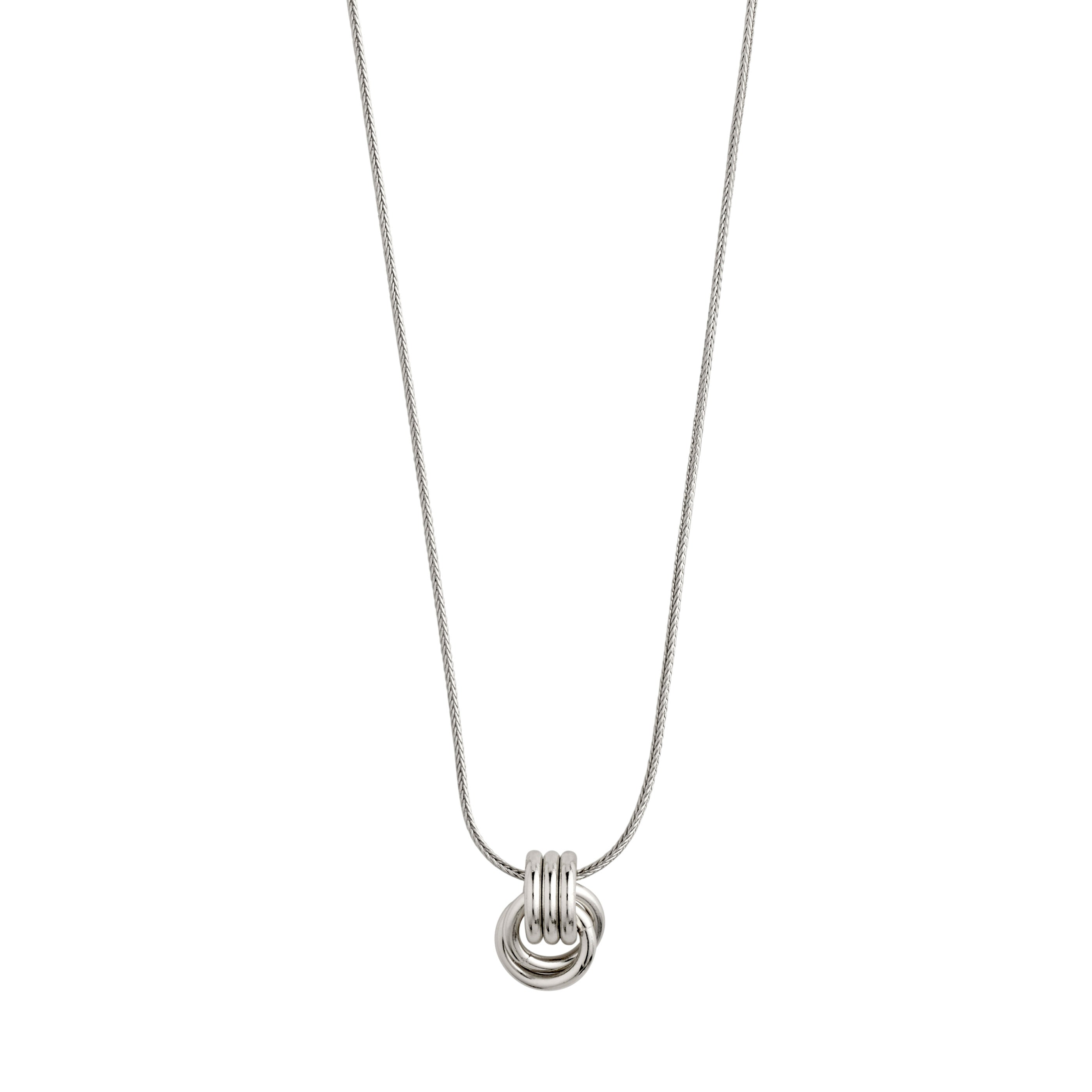Necklace : Doris : Silver Plated