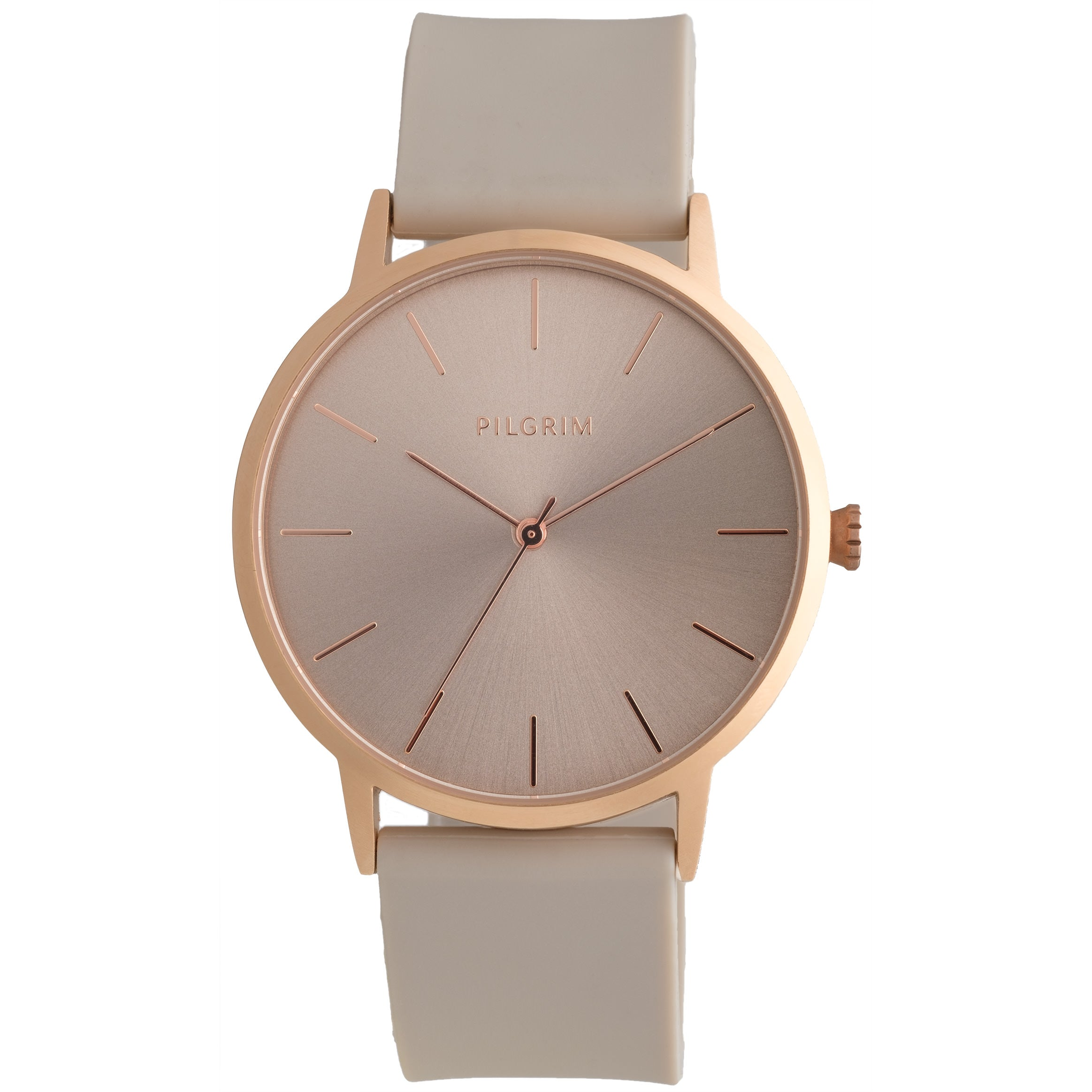 Watch : Aurelia_PI : Rose Gold Plated : Brown