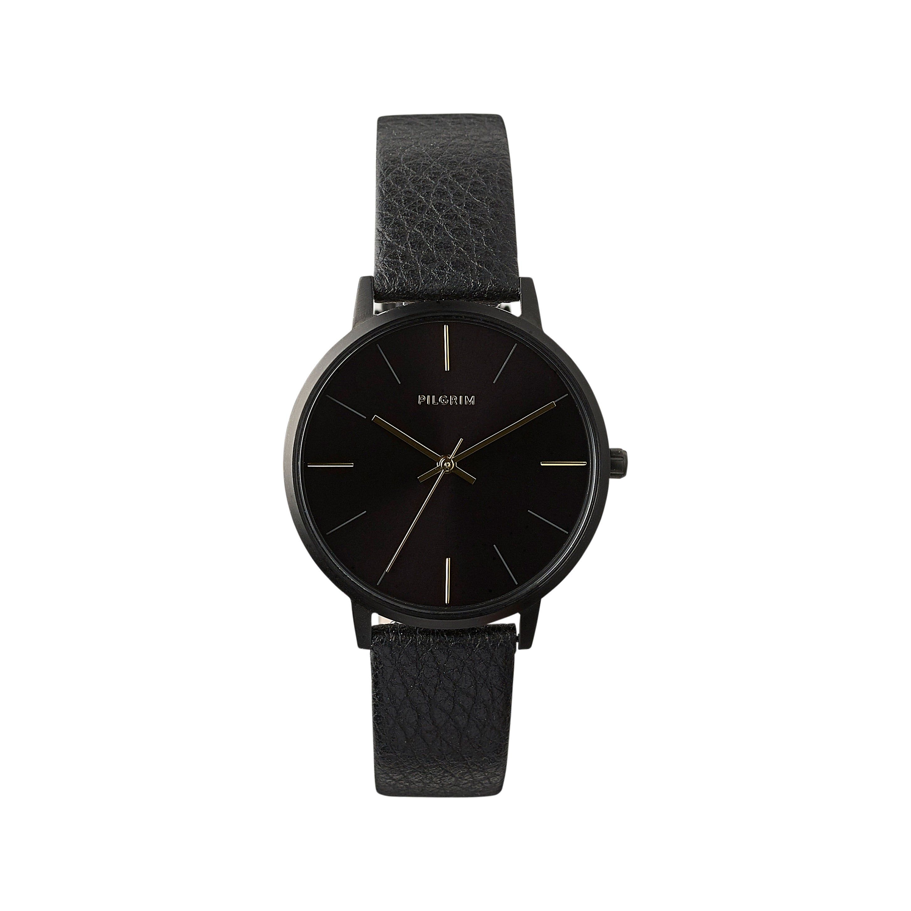 Watch : Sacha : Hematite Color : Black