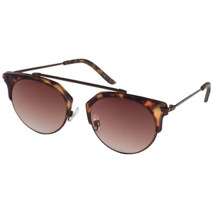 Sunglasses : Lotus_PI : Brown plated : Brown