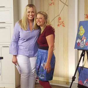 ksl studio 5 brooke walker and utah artist katrina berg