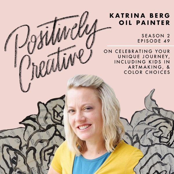 guest on positively creative podcast