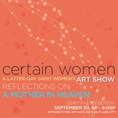certain women art show reflections on a mother in heaven anthony's fine art