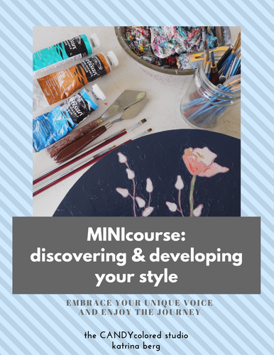 MINI course: discovering & developing your style