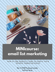 MINI course: email list marketing