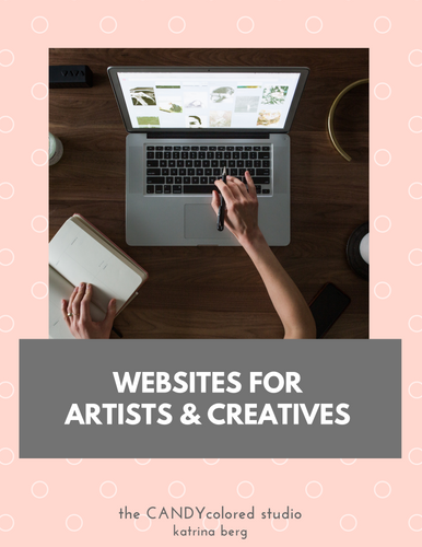 MINI course: websites for artists & creatives