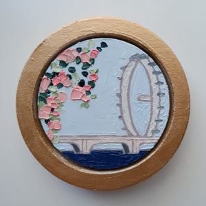 "katrina berg - ""nothing to lose"" (4"" circle)"