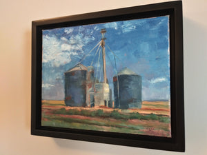 "sage gallagher - ""2020: the world is still beautiful: texas silos"" (8 x 10"")"