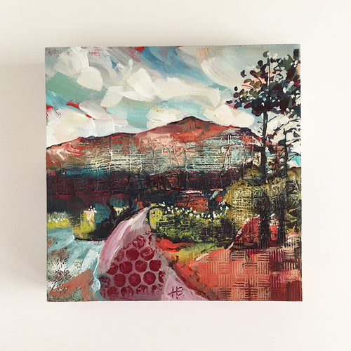 "holly beals - ""to the mountains"" (8 x 8"")"