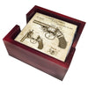 Police Gift Coaster Set With Patent of The Revolver