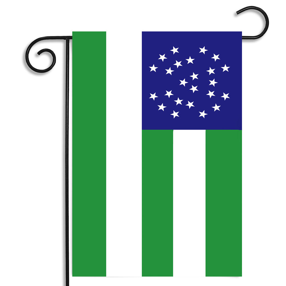Double Sided New York City Police Department Flag Law Enforcement Nylon Garden Apartment Flag