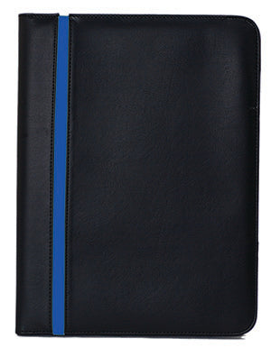 thin blue line police padfolio with your logo minimum 40 pieces