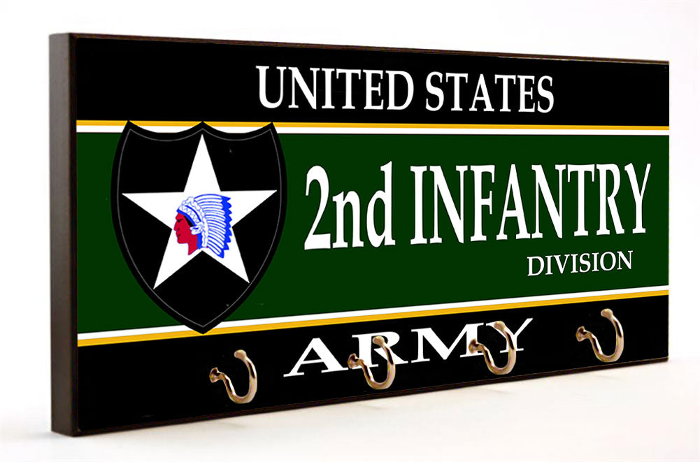 Second Infantry Division U.S. Army Key Hanger