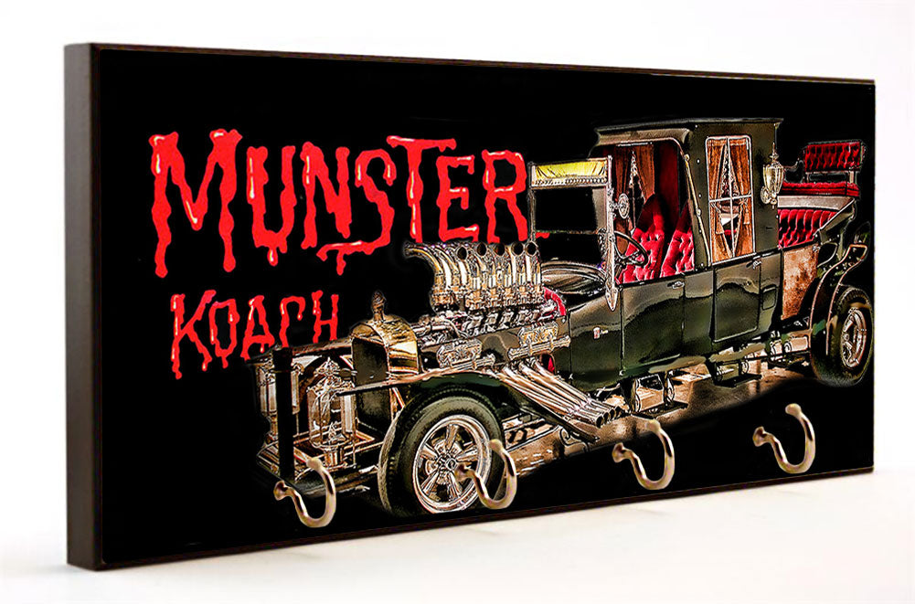 The Munster's Car Munster Koach Key Hanger