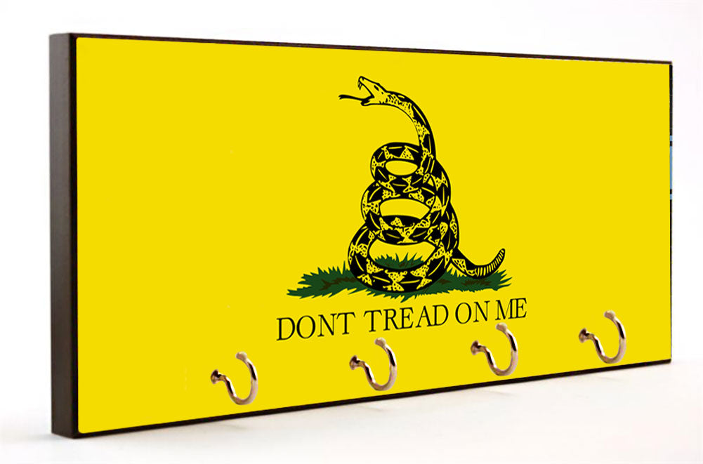 Don't Tread on Me Gadsden Flag Key Hanger