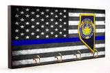 Thin Blue Line Nevada Highway Patrol Key Hanger