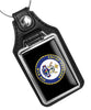United States Coast Guard Cutter Cypress WLB 210 Faux Leather Key Ring