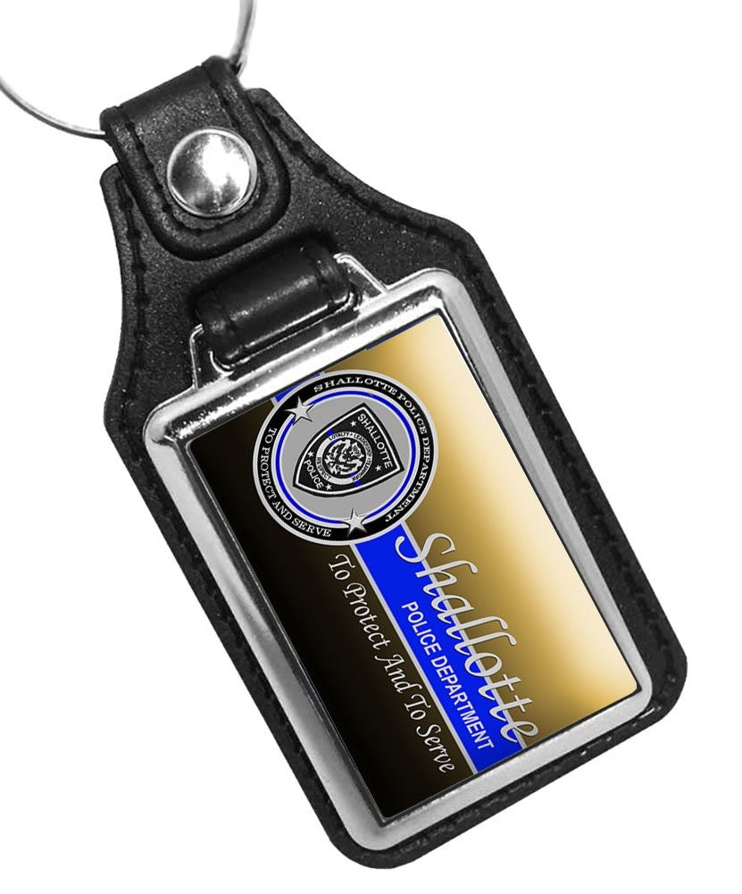 Police Key Chain Shalotte North Carolina Police Department To Protect And To Serve