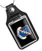 United States Air Force 39th Air Base Wing Faux Leather Key Ring