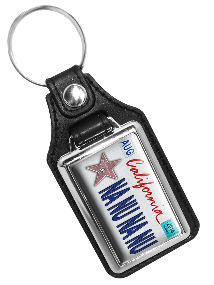 Nanu Nanu Mork and Mindy Show Faux Leather Key Ring