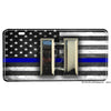 Thin Blue Line Police Captain  Sheriff Emblem