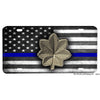 Thin Blue Line Police Sheriff Major Emblem