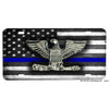 Thin Blue Line Police Chief Sheriff Emblem