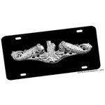 United States Navy Enlisted Dolphins Aluminum License Plate