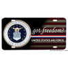 United States Air Force Got Freedom Aluminum License Plate