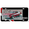 Starsky and Hutch 1975 Ford Gran Torino Police Car Aluminum License Plate