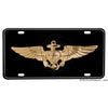 United States Navy Naval Aviator Badge Aluminum License Plate