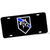 Police or Sheriff Horse Patrol Thin Blue Line License Plate