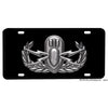 Basic, Senior, or Master EOD Emblem Design Aluminum License Plate