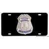 Virginia State Police Trooper Badge Design Aluminum License Plate