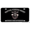 United States Army Special Forces Liberate From Oppression Aluminum License Plate