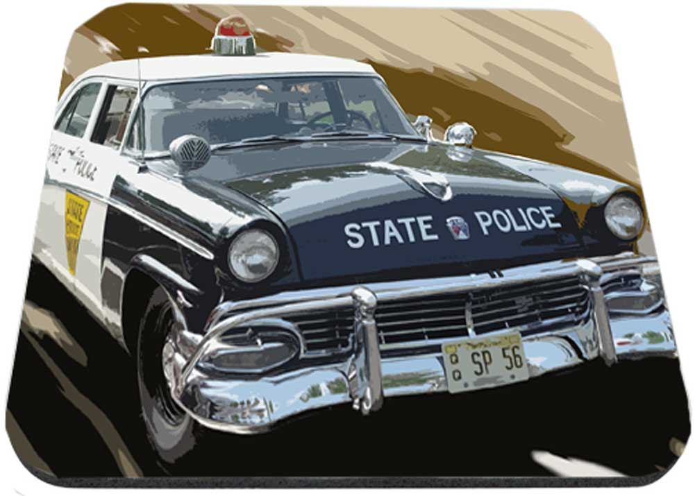 Old Ford Satate Police Mouse Pad