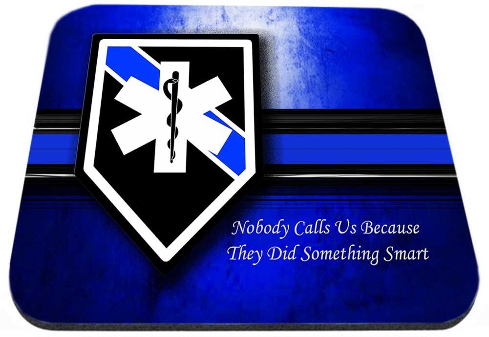 EMS Star Of Life Nobody Calls Us ?. Mouse Pad