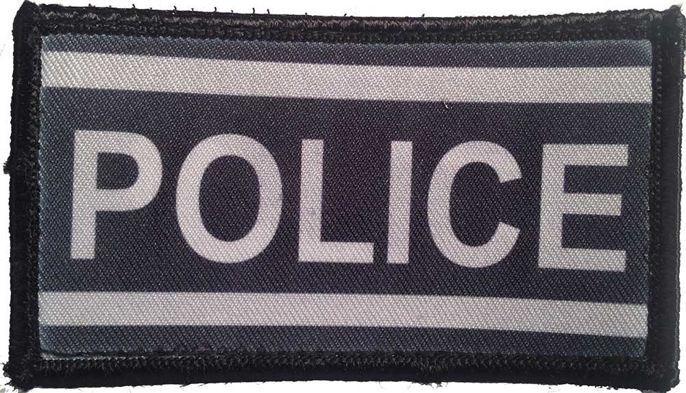 Police Velcro Patch - PACKAGE OF 4