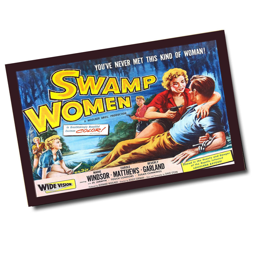 Vintage Swamp Women Movie Poster (11 x 17)