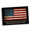 Subdued American Flag with The Pledge of Allegiance Poster 24x36 or 11x17