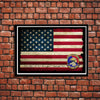 United States Air Force Honor Guard To Honor With Dignity Emblem Poster