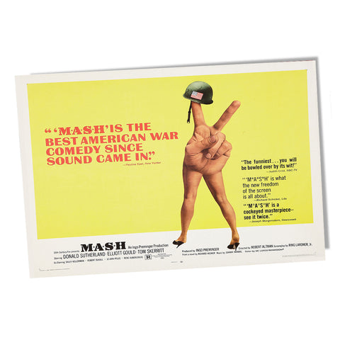 1970 MASH 4077th Mobile Army Surgical Hospital Movie Poster 11x17 or 24x36