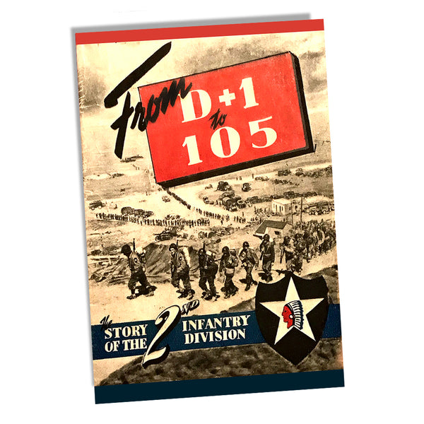 Story of the US Army Second Infantry Division From D+1 to 105 Poster 11x17 or 24x36