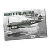 United States Air Force Curtiss P-40N WWII Plane Poster