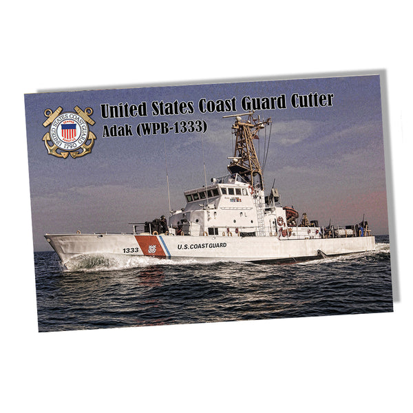 United States Coast Guard Cutter Adak (WPB-1333) Poster 11x17 or 24x36