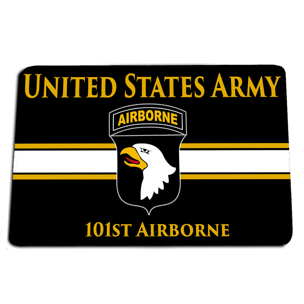 United States Army 101st Airborne Rendezvous With Destiny Door Mat Rug