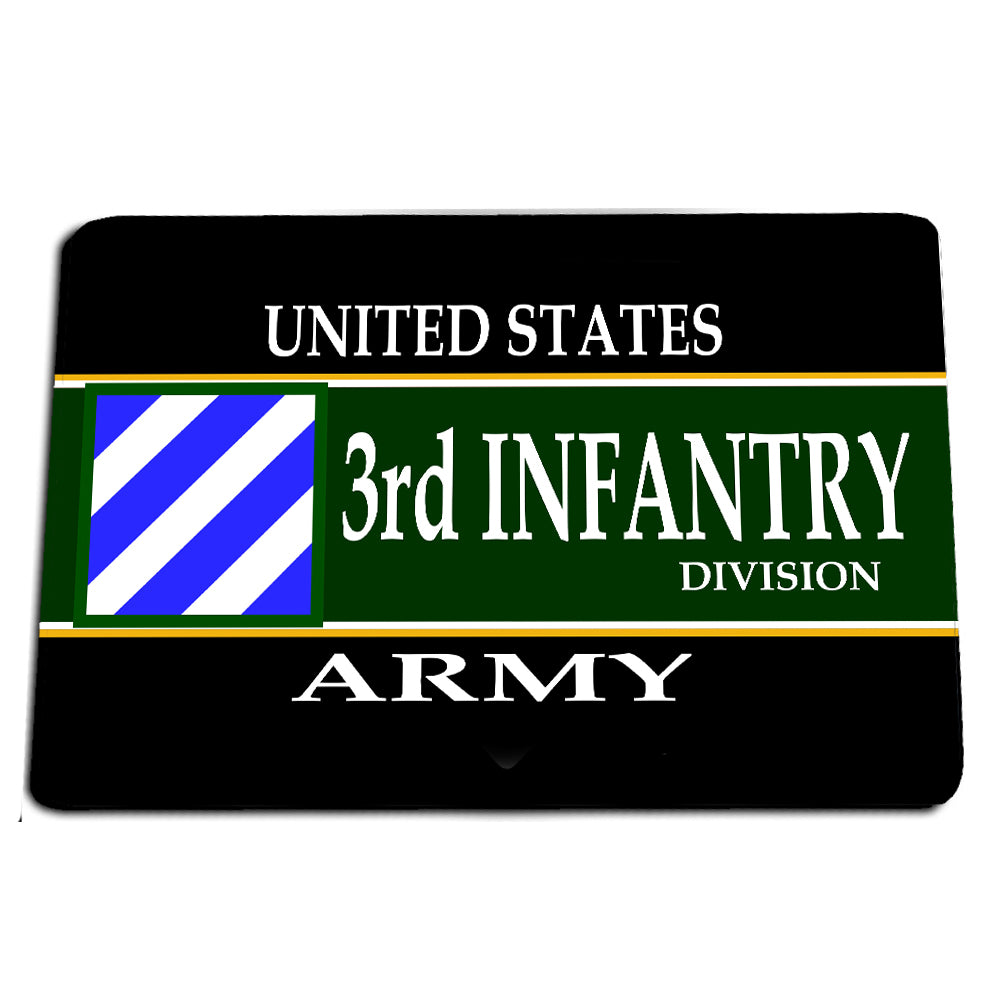 United States Army Third Infantry Division The Rock of the Marne Door Mat Rug