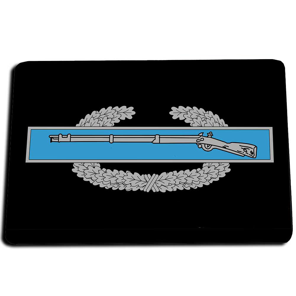 United States Army Combat Infantry Badge Design Door Mat Rug