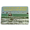 US Army Apocalypse Now If I Say It's Safe to Surf It's Safe To Surf Door Mat Rug